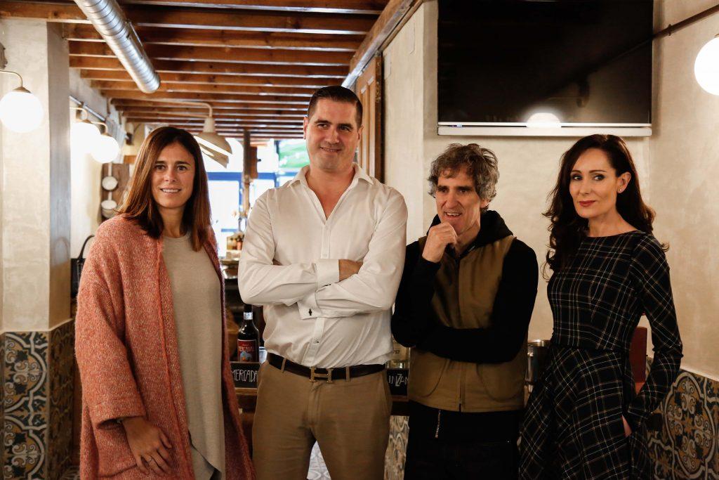 Edurne Pasabán, Pedro Rodriguez, Mikel Erentxun e Isabel Zapardiez