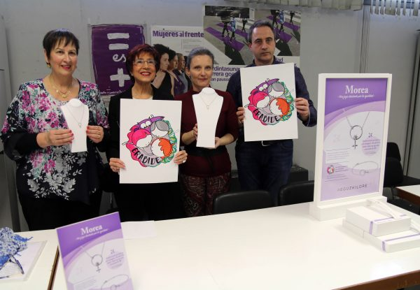Eguzkilore presenta Morea, una joya por la igualdad