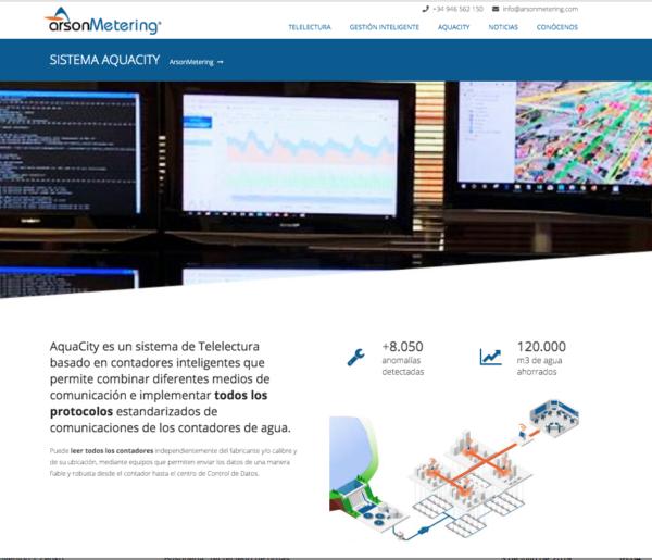 Nueva web Arson Metering