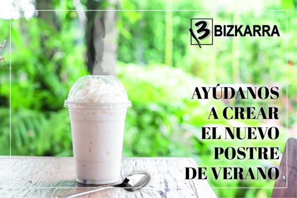 Postre verano Bizkarra