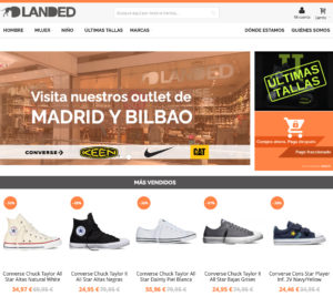 Landed Outlet Converse