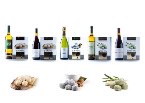 Maridaje vinos y trufas