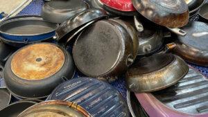 Reciclaje sartenes Inoxibar